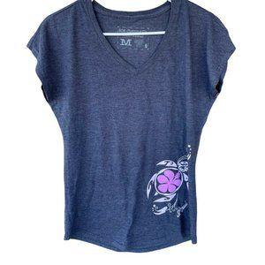 808 Clothing Co Hawaiian Design Shirt Gray Short S